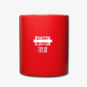 AshtonTaylor Merch Logo Modern White - Full Colour Mug