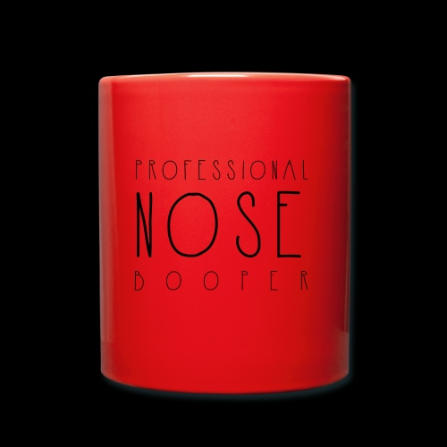 Professional Nose Booper - Full Colour Mug