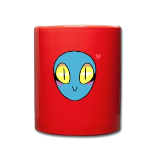 Evetty Alien - Taza de un color