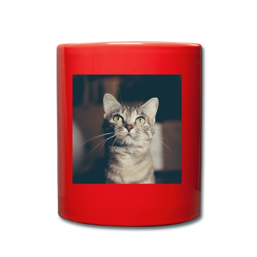 Hauskatzen Blick - Tasse einfarbig