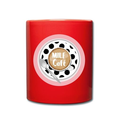 Milfcafé - MILF Logo Instagram Blogger Musthave - Tasse einfarbig