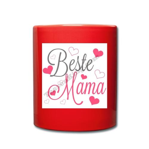 geschenk für mama - Tasse einfarbig