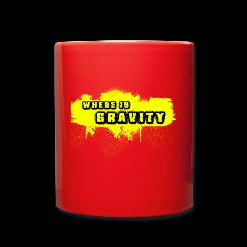 WHERE IS GRAVITY - Taza de un color