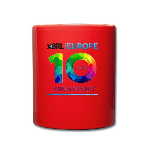 10th anniversary of XBRL Europe - Full Colour Mug