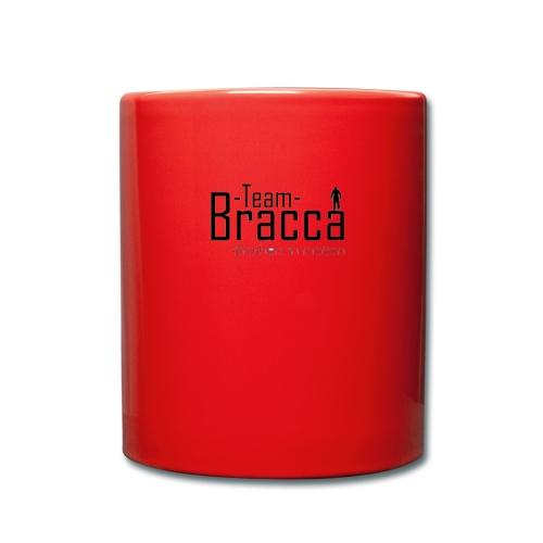 Black Bracca logo - Ensfarvet krus