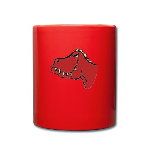 T Rex, Red Dragon - Full Colour Mug