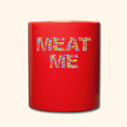 Meat ME - Tasse einfarbig