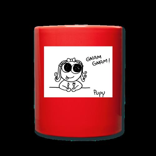 Pupy: gnam gnam! - girl - Tazza monocolore