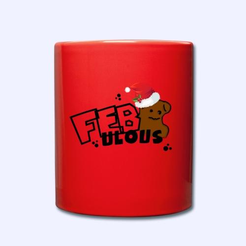 Merch mit Tedddy - Tasse einfarbig
