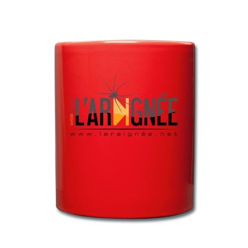 L'ARAIGNÉE, logo noir - Mug uni