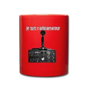 Je suis radioamateur - Tasse en couleur