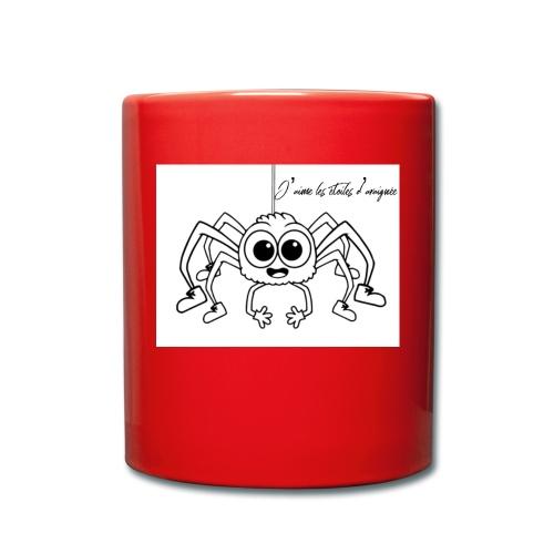 Spider Web Star - Mug uni
