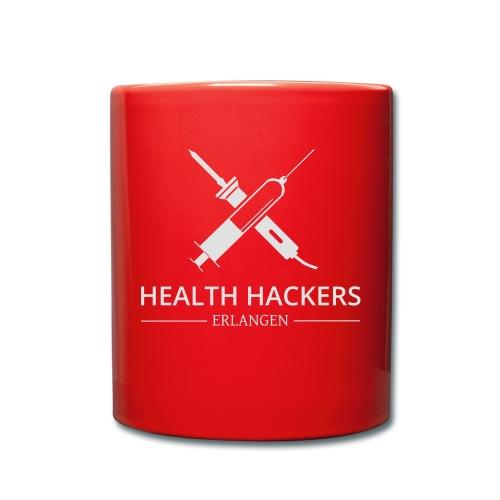 Logo Health Hackers e.V. - Tasse einfarbig