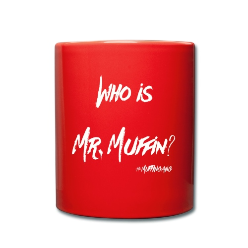 Wo is Mr. Muffin White Edition // Special for Caps - Tasse einfarbig