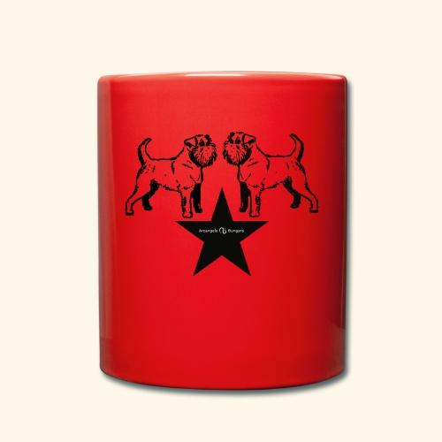 Brussels Griffon Logo - Mug uni