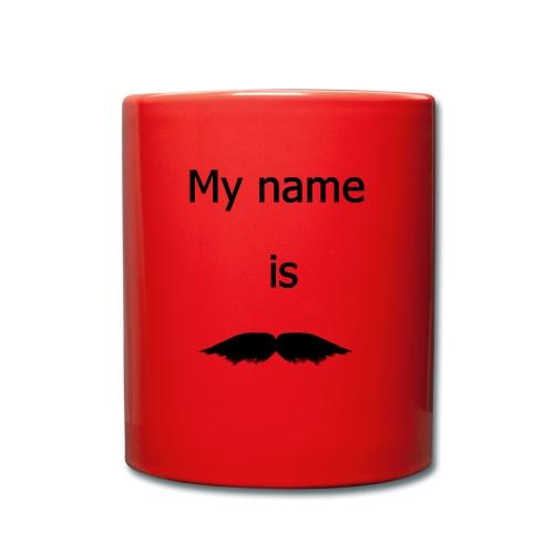 moustache - Mug uni