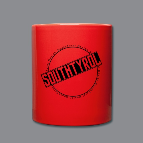 SouthTyrol Kreisform - Tasse einfarbig