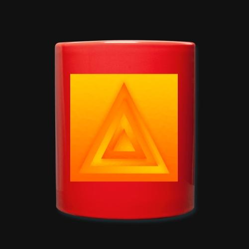 Sun Pyramid - Tasse einfarbig