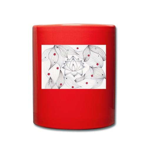 Lotus Dots - Tazza monocolore