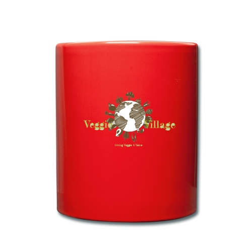 VeggieVillage Logo - Tasse einfarbig