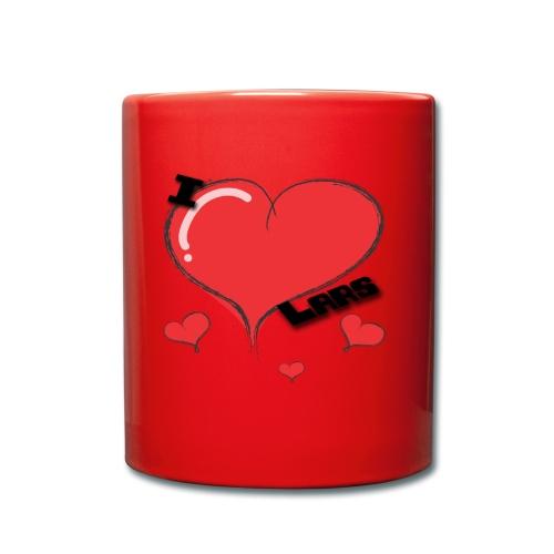 I love Lars - Ensfarget kopp