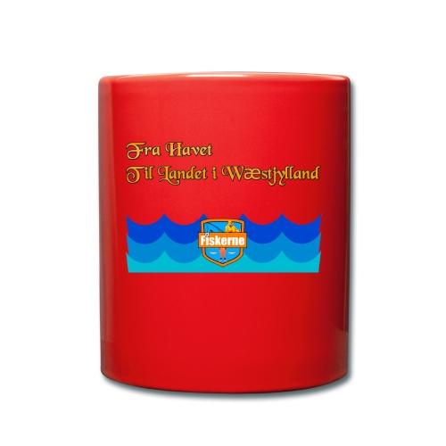 Fra Havet - Ensfarvet krus