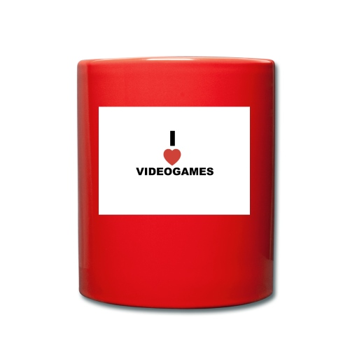 I Love Videogames - Full Colour Mug