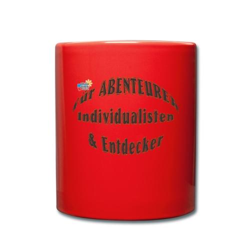 Abenteurer Individualisten & Entdecker - Tasse einfarbig