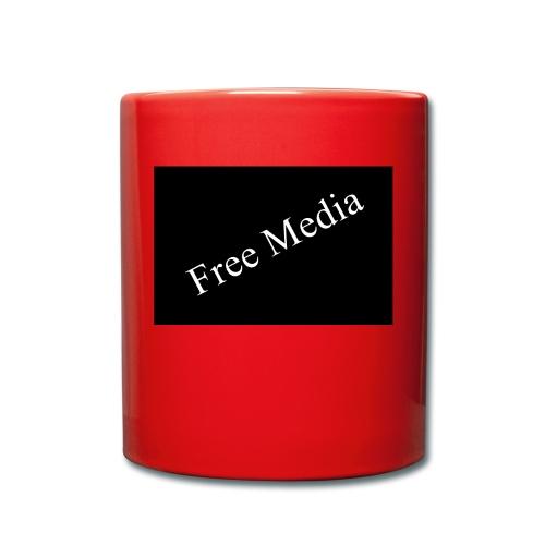 Free Media - Tasse einfarbig