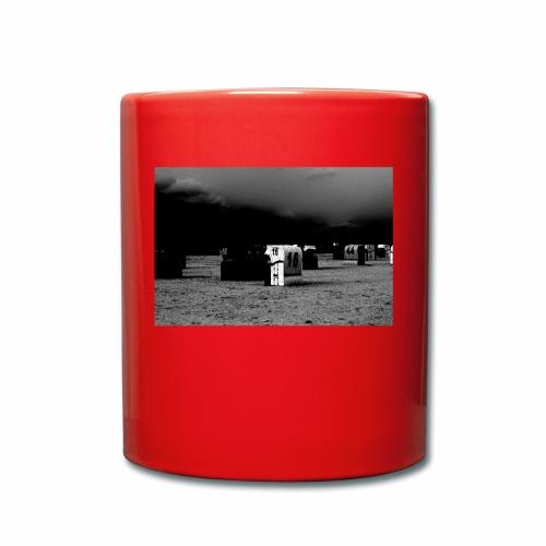 Strandkorb 16 - Tasse einfarbig