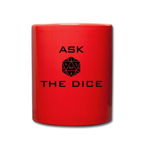 Ask the dice - Tazza monocolore