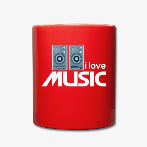 Amo la música 02 - Taza de un color