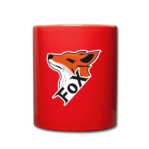 FoX Black&White Edition - Tasse einfarbig