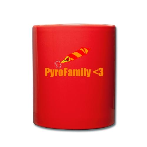 PyroFamily<3 - Tasse einfarbig