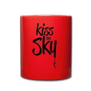 kiss the sky *2018* - Tasse einfarbig
