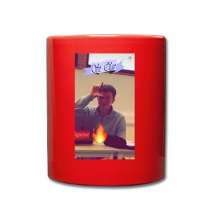 L - Ensfarget kopp