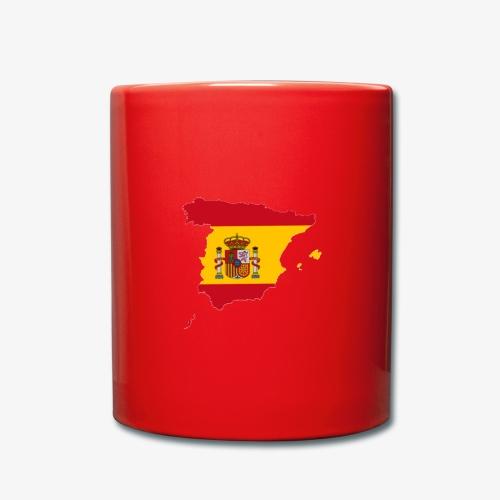Spanien - Tasse einfarbig