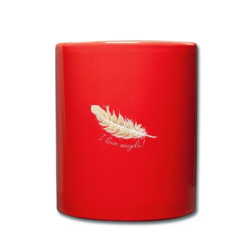 EngelFeder Love - Tasse einfarbig
