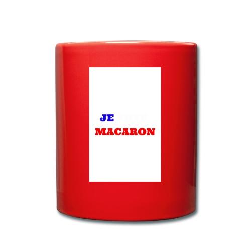 JE VOTE MACARON - Mug uni
