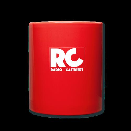 Radio CASTriert Logo 2017/2018 - Tasse einfarbig