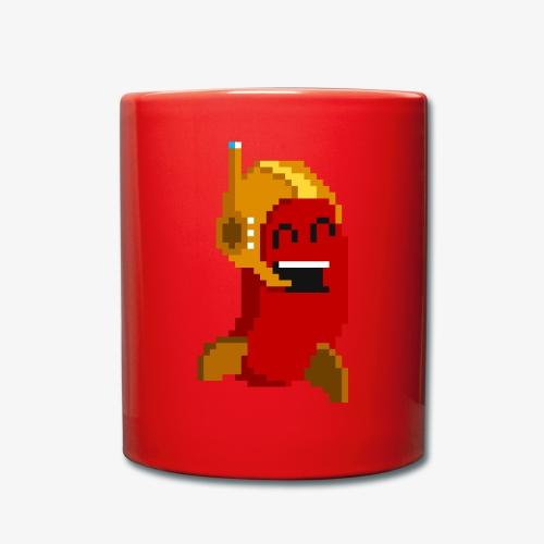Pixelbohne - Tasse einfarbig