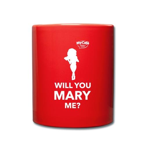 My Cafe Mary - Full Colour Mug