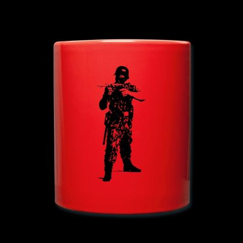 Soldat Attacke - Tasse einfarbig