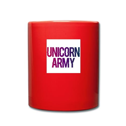 UnicornArmyLogo - Tasse einfarbig