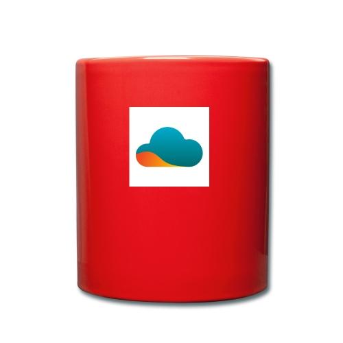 Top World Cloud - Tasse einfarbig