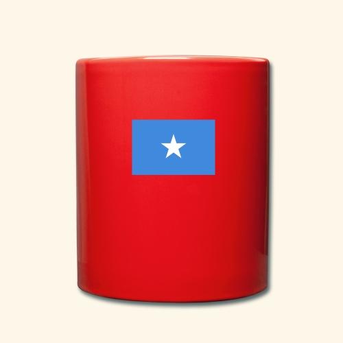 Somalia Flag - Ensfarvet krus