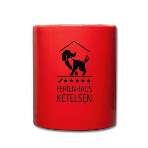 Ferienhaus-Ketelsen - Tasse einfarbig