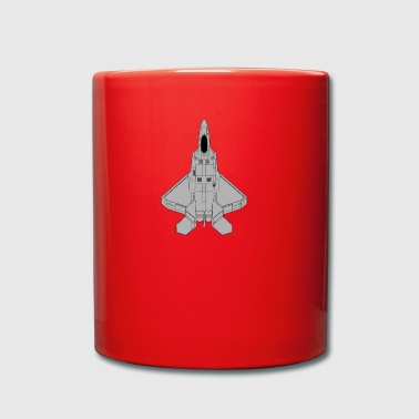 fighter aircraft - Full Colour Mug