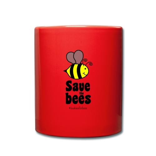 Bees9-1 save the bees | Bienen Blumen Schützen - Full Colour Mug