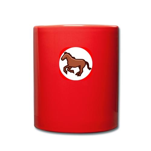 Pferd - Tasse einfarbig